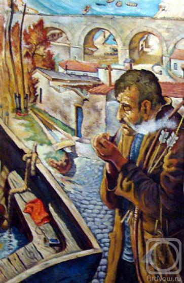 Портрет Александра Грина