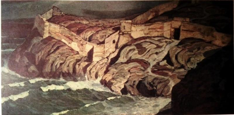 Древняя крепость. 1902