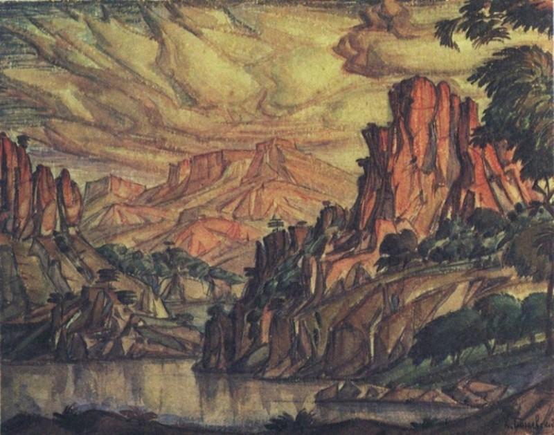 Крымский пейзаж. 1930-е