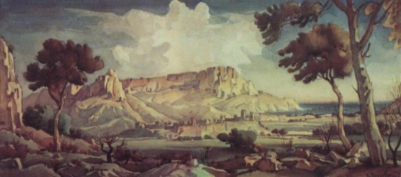 Город в долине. 1935