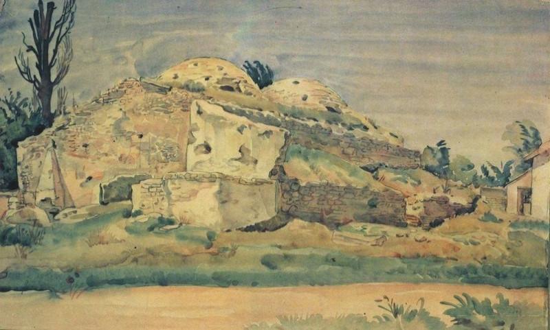 Старые бани в Карасубазаре, 1935