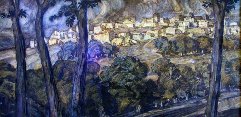Руины. 1908