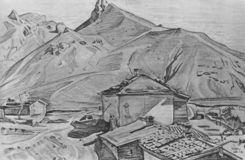 Деревня Козы. 1923