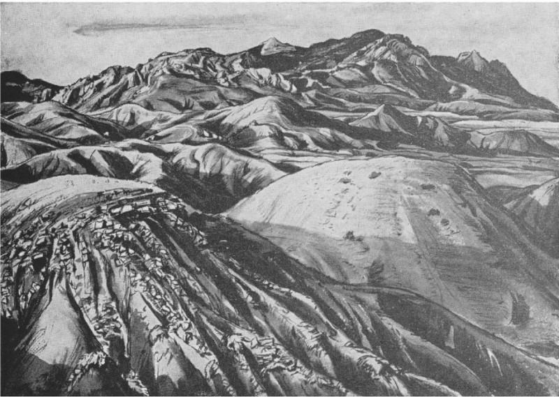 Горы (эскиз)