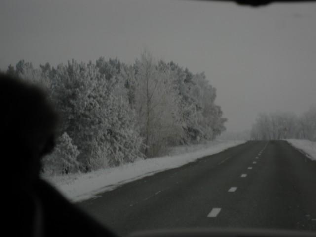Дорога в Шушенское