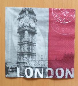london-napkin