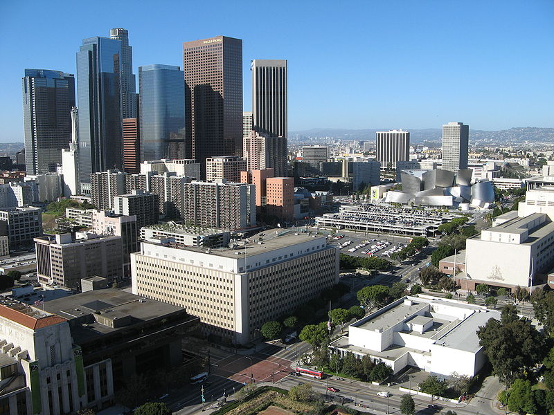 Малевич. Hill_Downtown_Los_Angeles