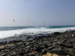 Ponta Preta in Sal island, Cabo Verde