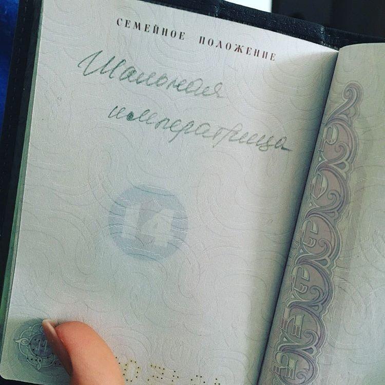Воздушным, картинки приколы в паспорте