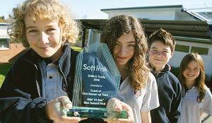 Lorde in intermediate school