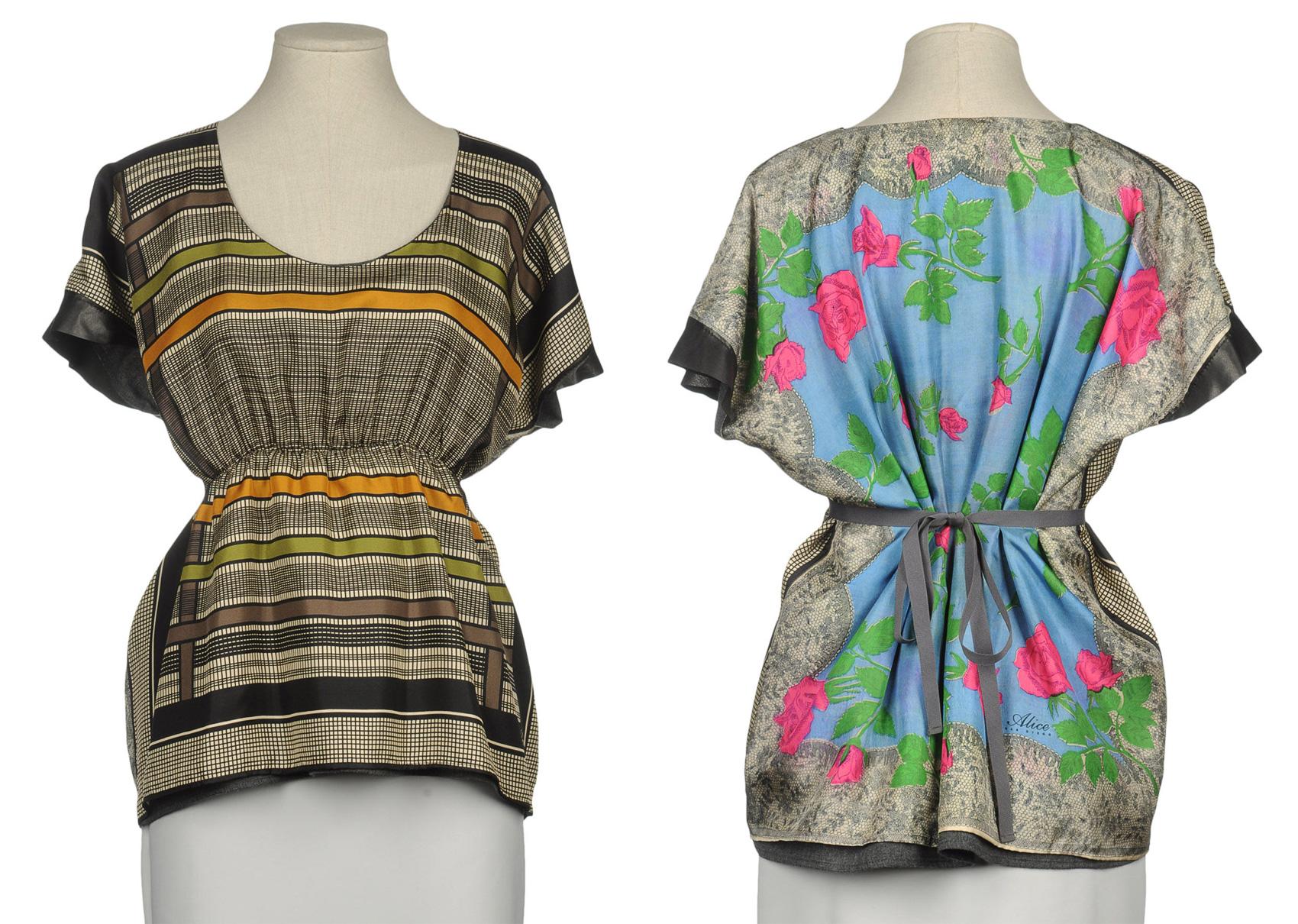 Блуза из прямоугольника