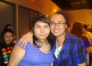 me with carlo from meg & dia