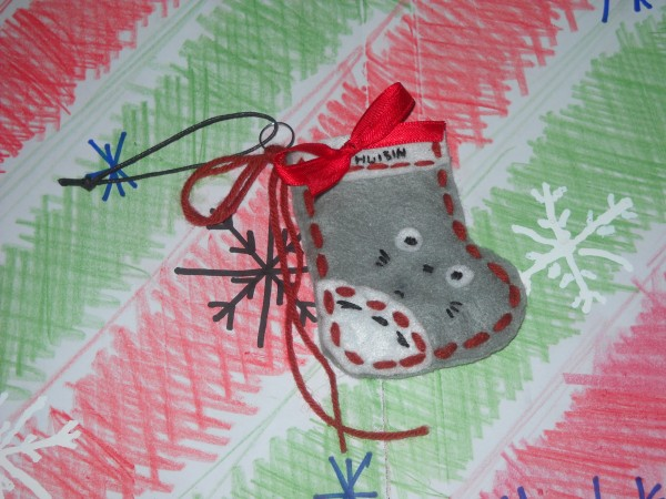 Totoro stocking