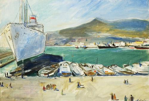 Jalta v portu 1961