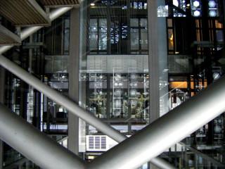 inside the Institute de Monde Arabe