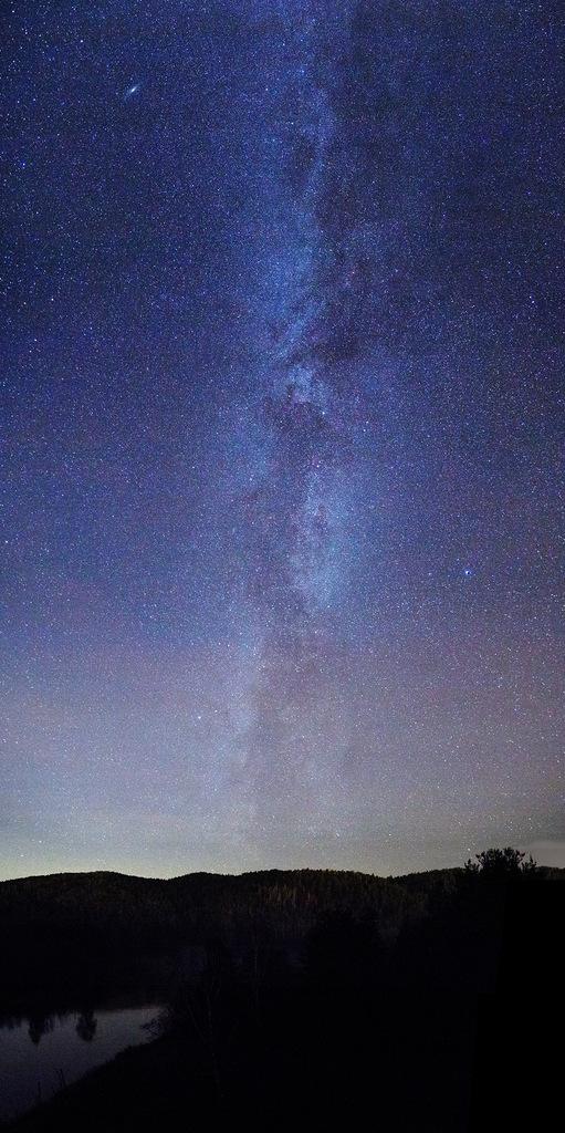 Млечный путь над Еграшихой