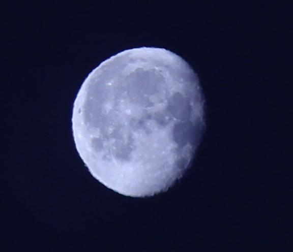 Луна, обрезка кадра