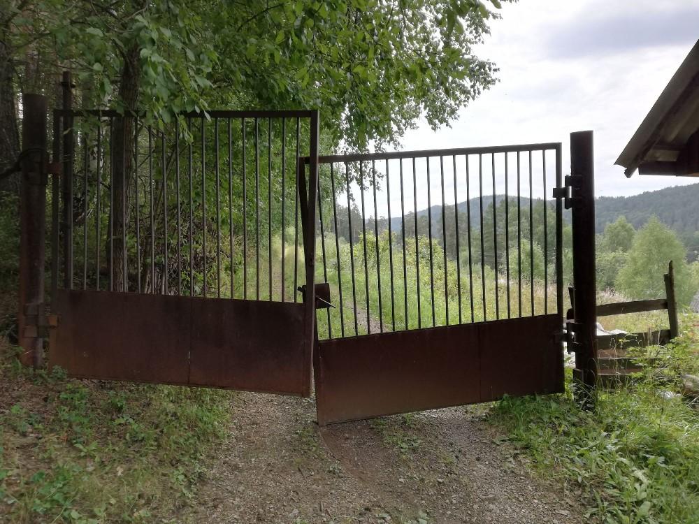 Ворота в садах