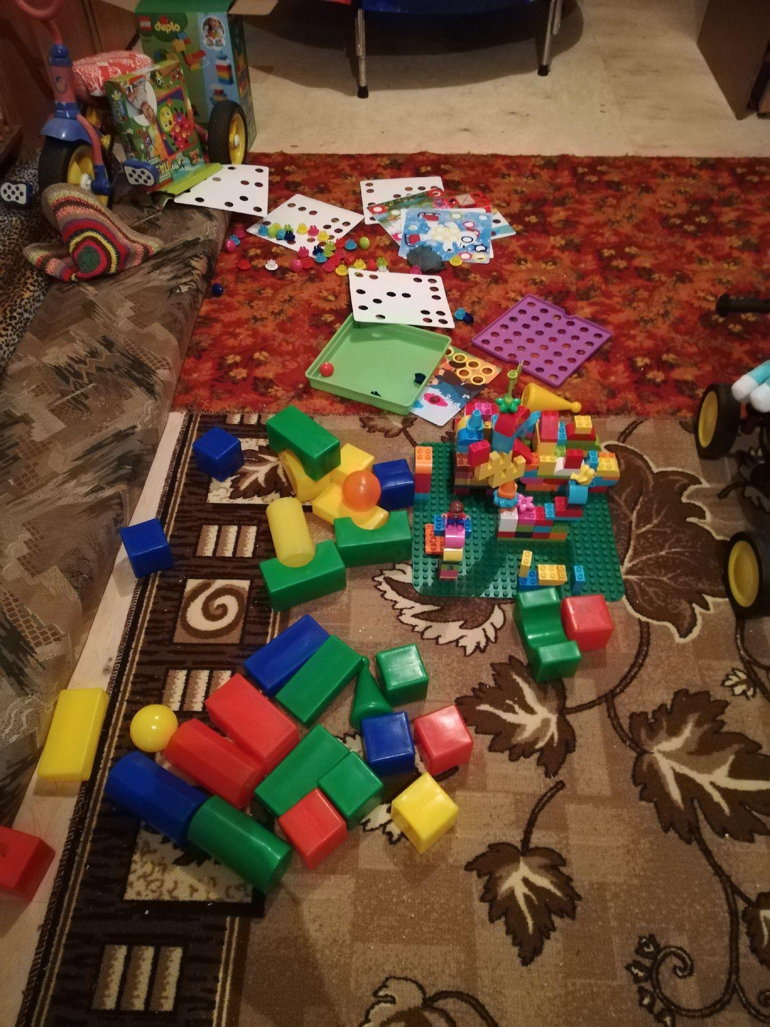 Дома строим домики