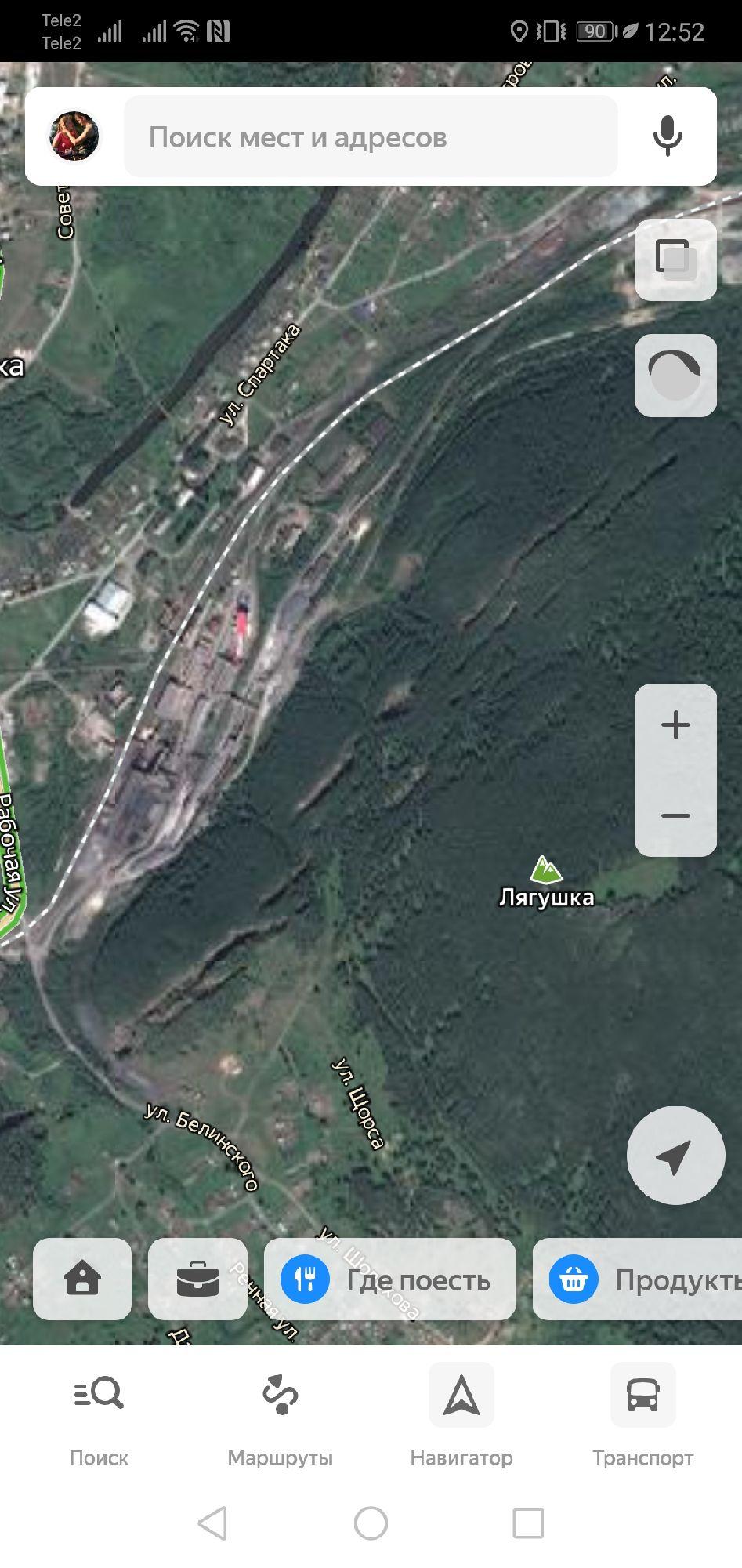 Провалы хорошо видны на спутниковых снимках