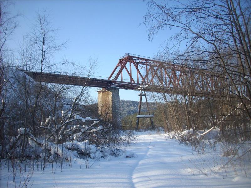 Мост, дорога