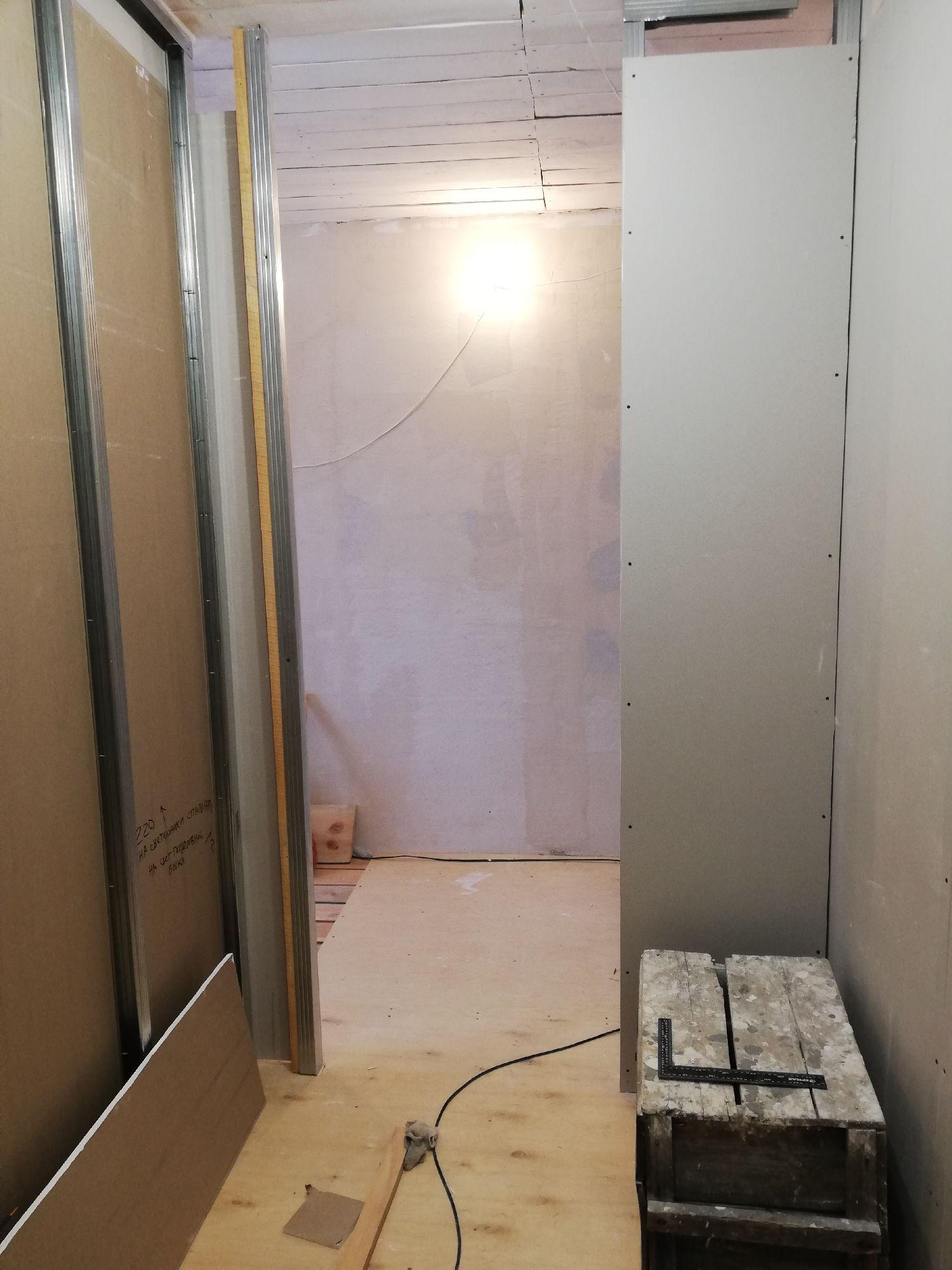 Вид из гардеробной