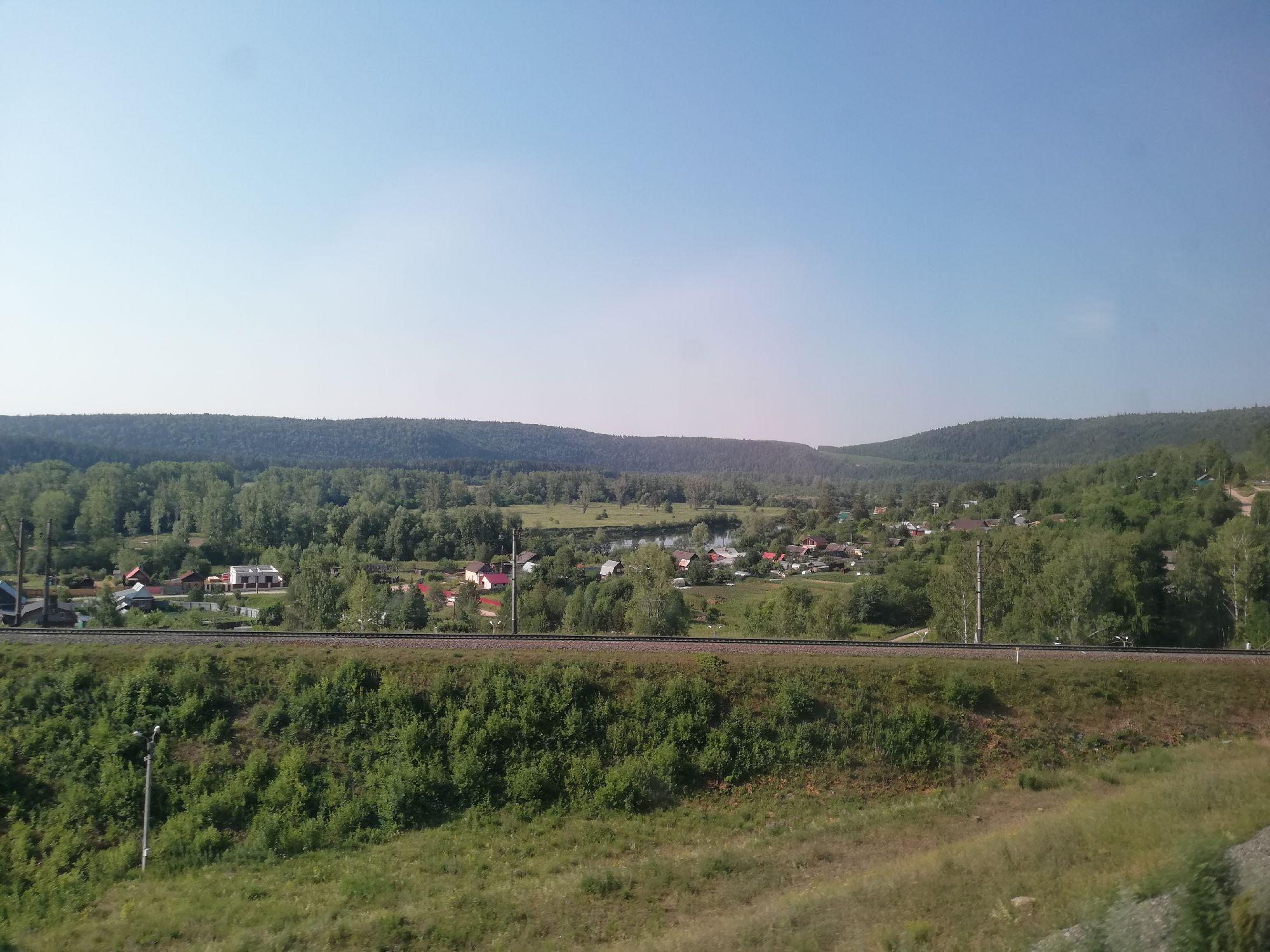Где-то в пути после Екатеринбурга, утром
