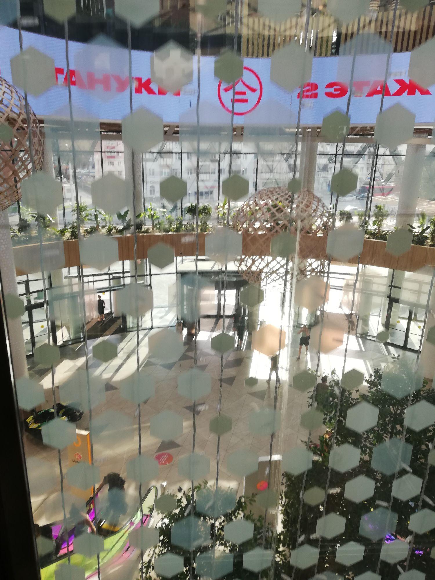 Вид из лифта