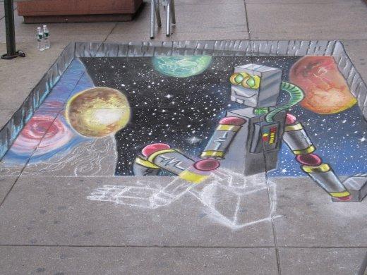 chalkrobot