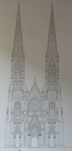 stpatslinedrawing