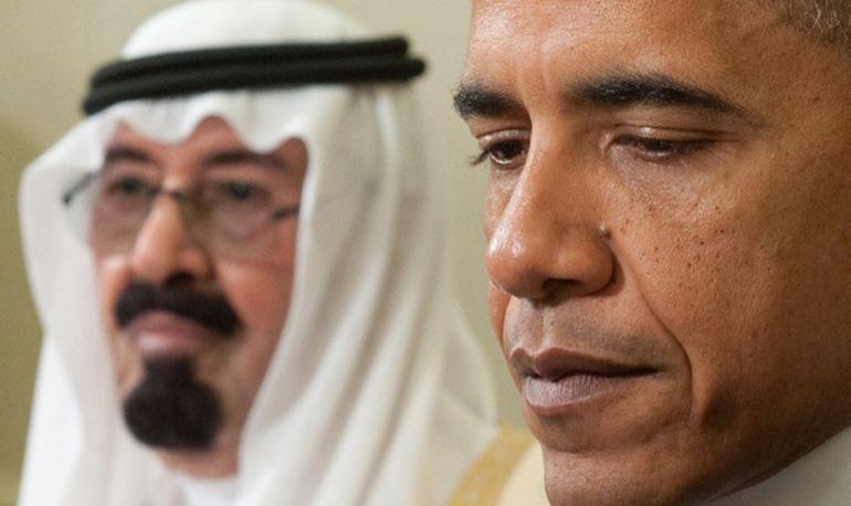 Саудиты против США