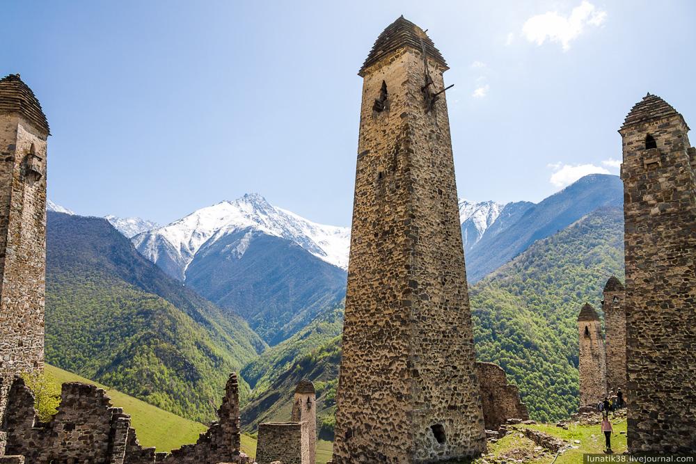 Ингушская башня картинка