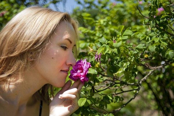 я и цветок
