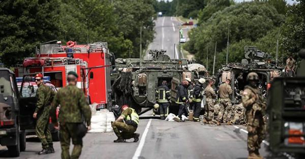 «Я против!» — прибалтов достали войска НАТО