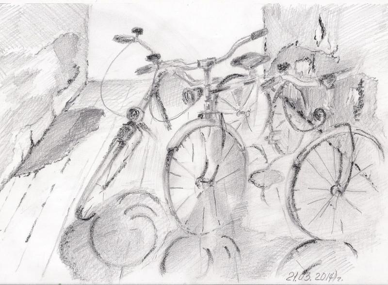 Велогонка.Графика. Бумага. Карандаш. *Lusi Soleil* 2014 г#люблюмалювати❤люблюакварель❤❤малююзавжди❤карандаш#графика#рисунок#набросок#эскиз#