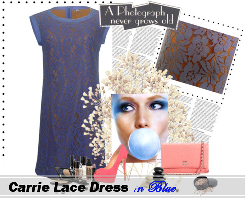 carrie dress blue  picA