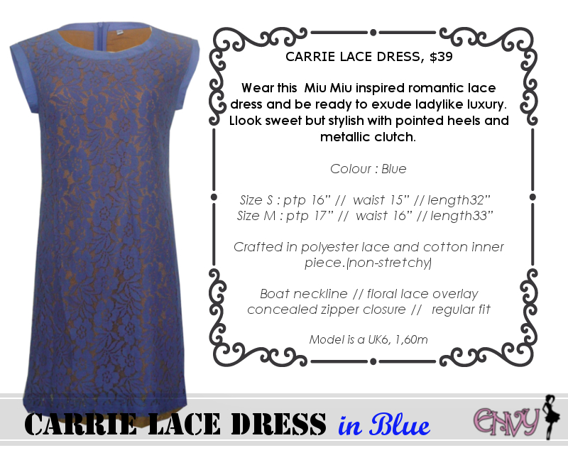 carrie dress blue pic 1