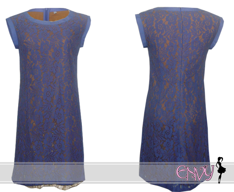 carrie dress blue pic 2