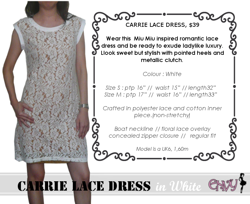carrie dress white pic 1