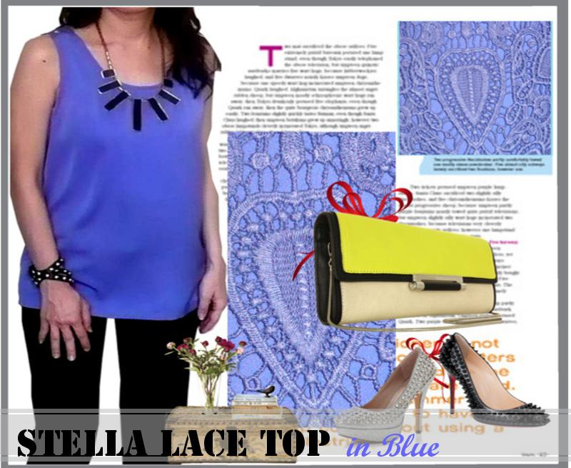 Stella Racerback Blue picA