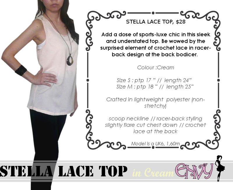 Stella Racerback Cream pic1