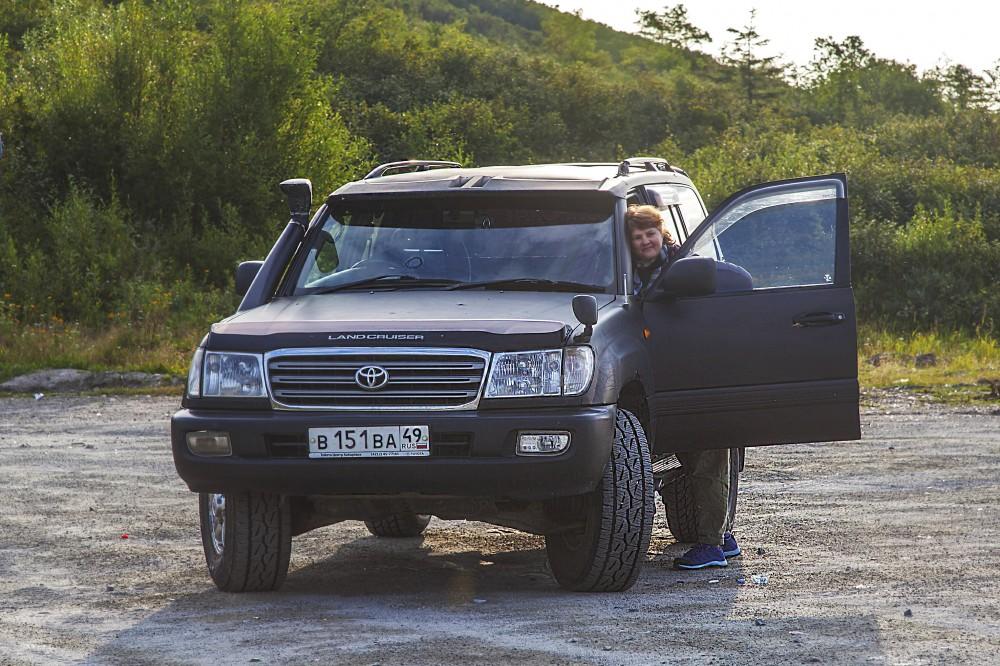 Автомобиль брали в аренду в Магадане, август 2019 года.
