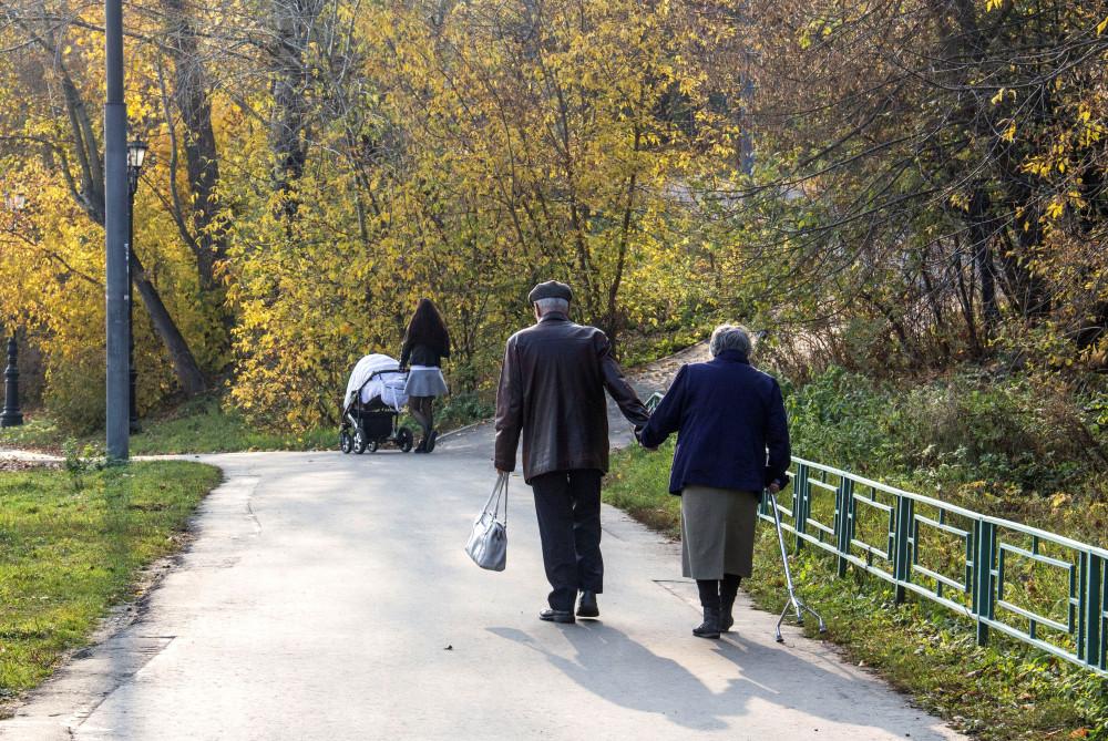 Снимок сделан в Строгино в октябре 2018 года.