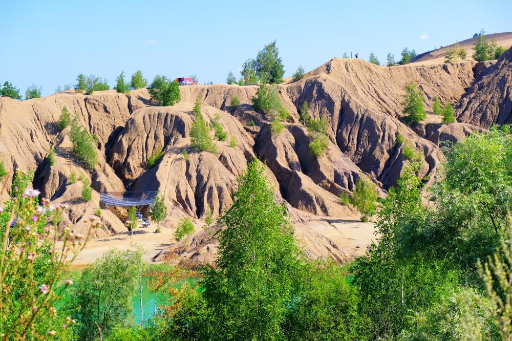 Романцевские горы, Кондуки. Снимается кино