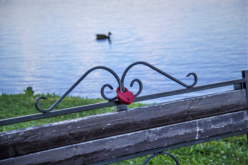 Фото сделано на берегу Валдая.