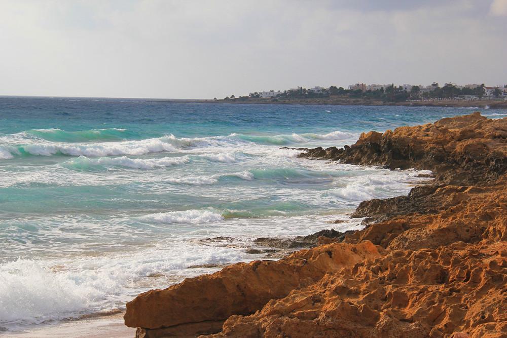 Средиземное море на Кипре, 2-14г.
