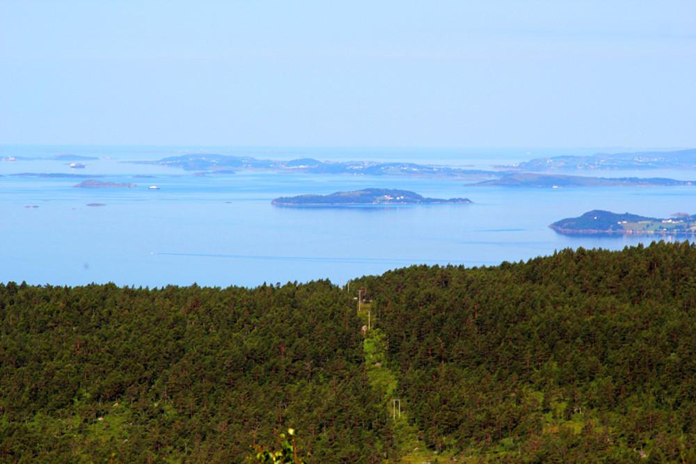 Северное море у Ставангера, Норвегия, 2012 г.