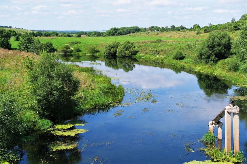 река Дон в Тульской области.