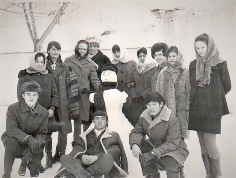 Наша русская немецкая на первом курсе.