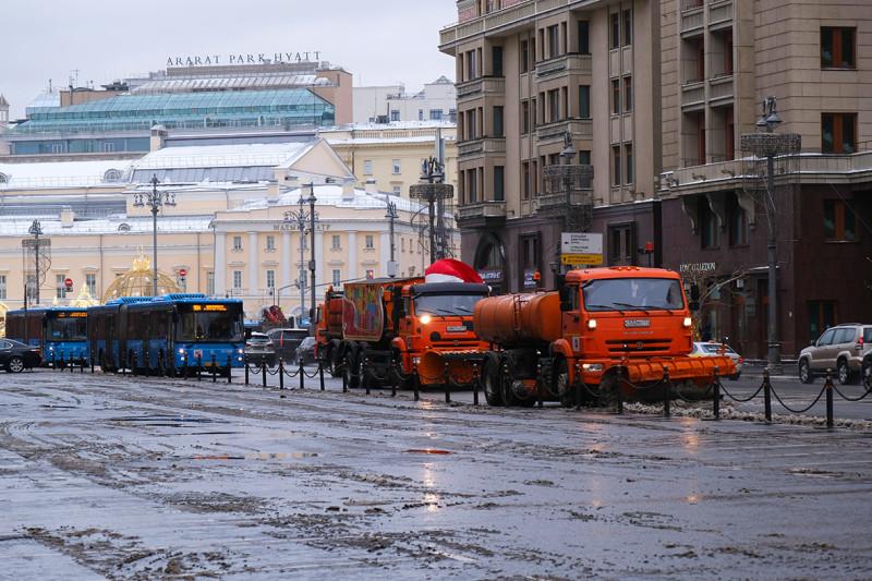 Как Москва готовится к встрече Нового года